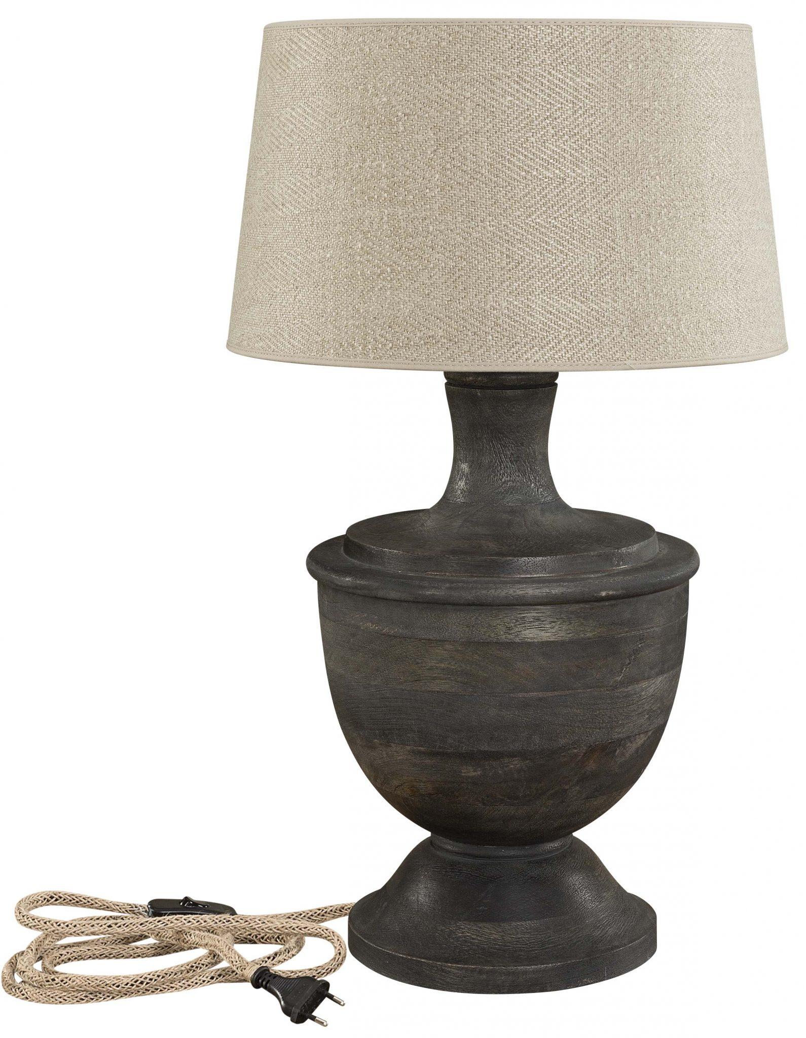 capri table lamp base artwood. Black Bedroom Furniture Sets. Home Design Ideas