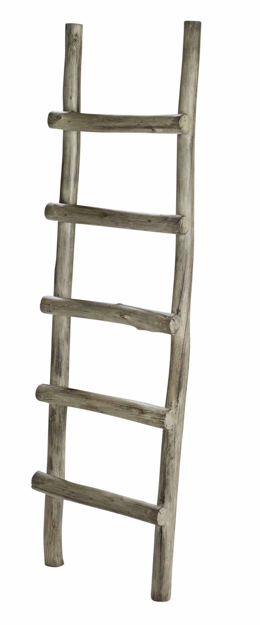 Ladder Vintage Grey Artwood