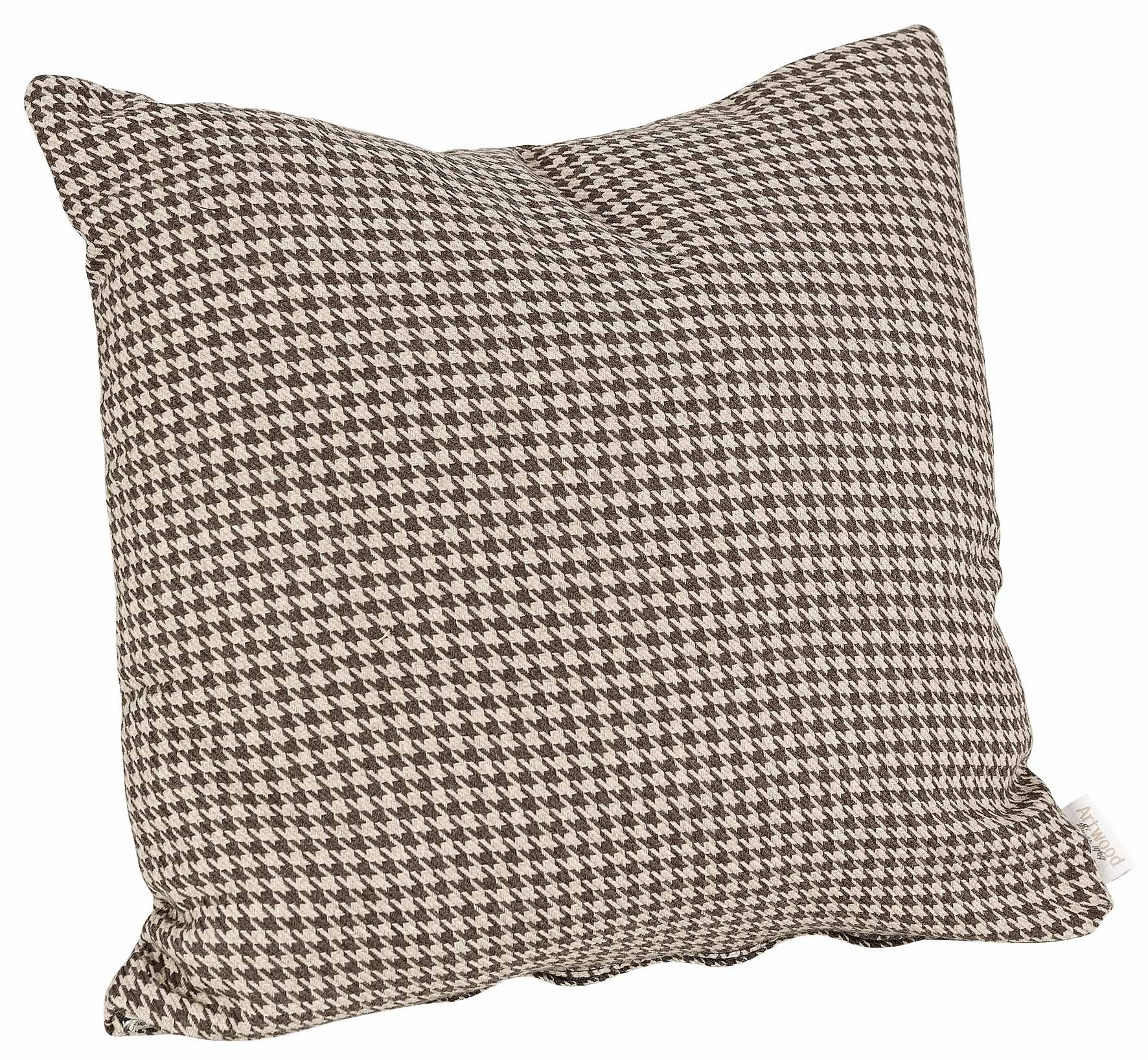 Highland Brown Square Cushion Artwood